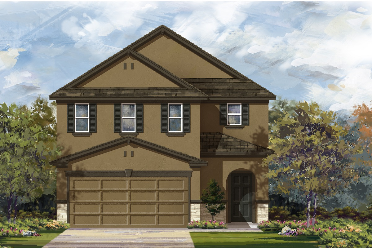 New Homes in Del Valle, TX - Plan F-2604 J