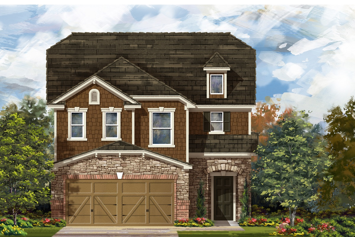 New Homes in Del Valle, TX - Plan F-2604 K