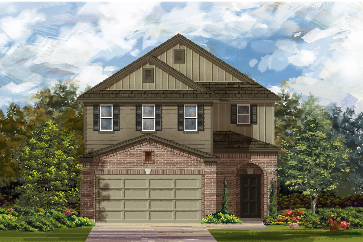 New Homes in Del Valle, TX - Plan F-2604 L