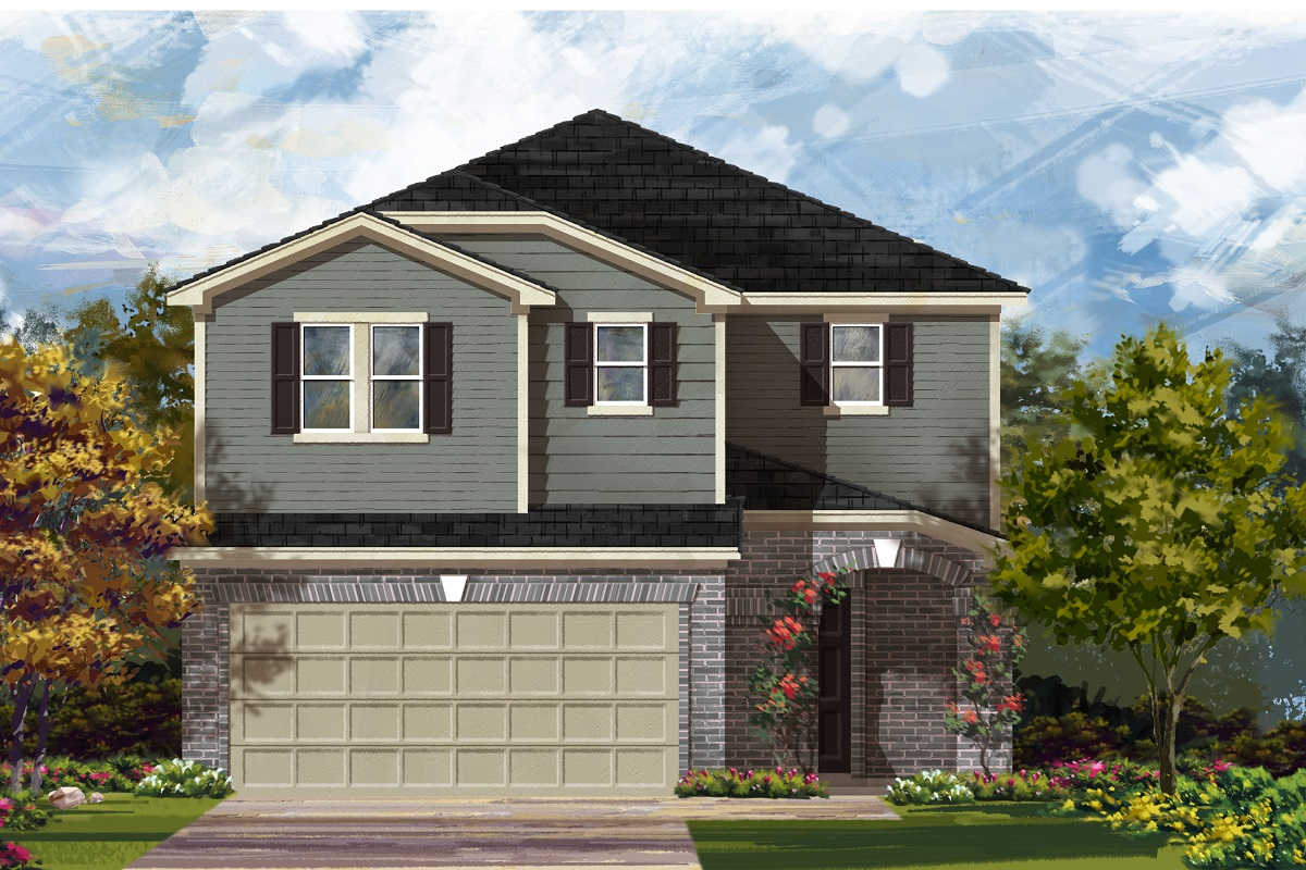 New Homes in Del Valle, TX - Plan F-2708 I
