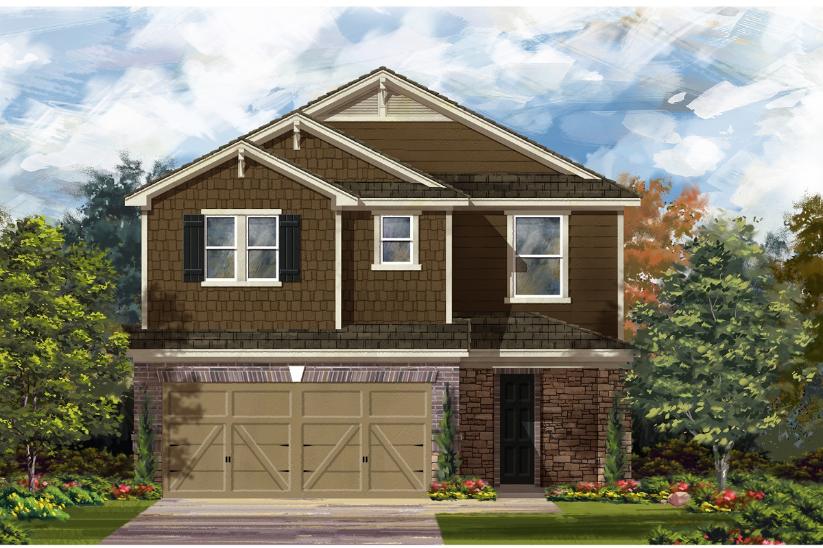 New Homes in Del Valle, TX - Plan F-2708 K