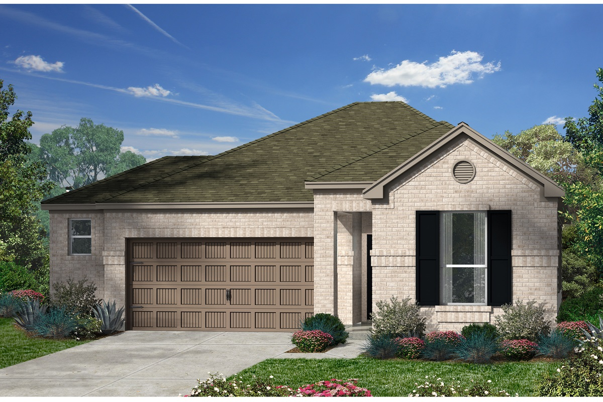 New Homes in Kyle, TX - Plan E-1591 H