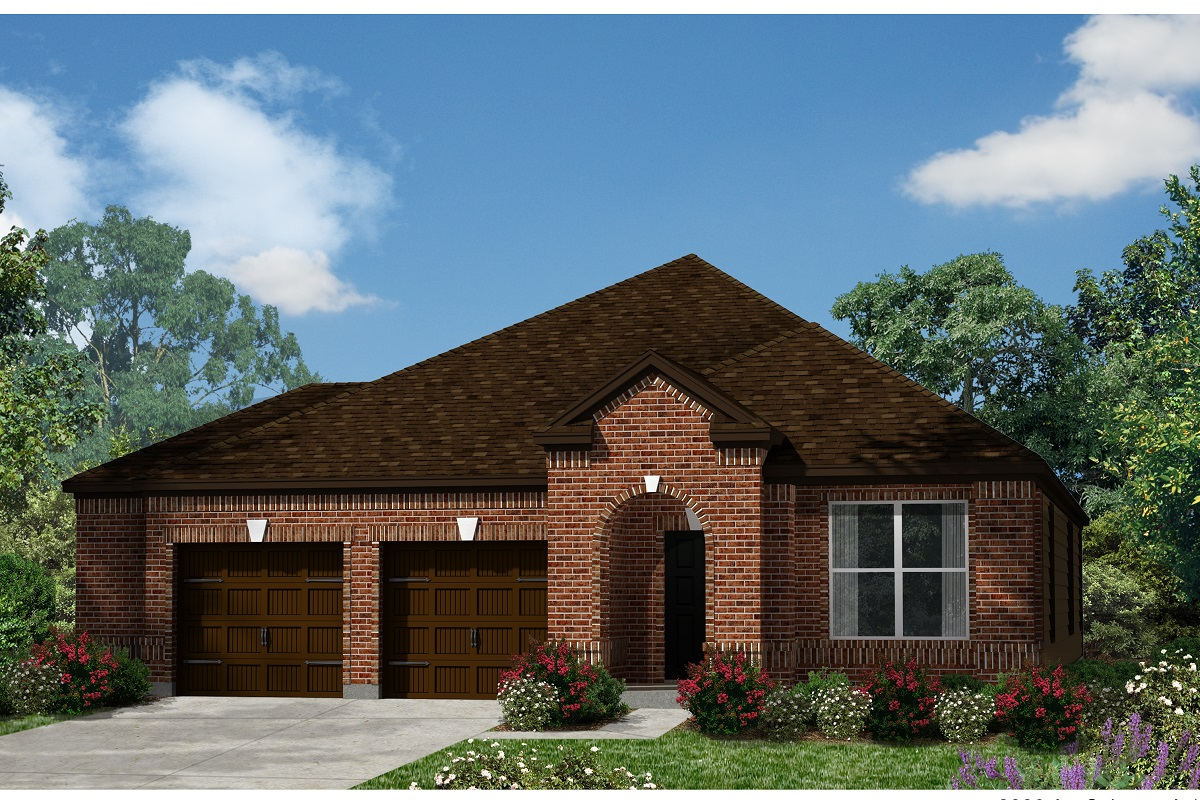 New Homes in Kyle, TX - Plan A-2089 A