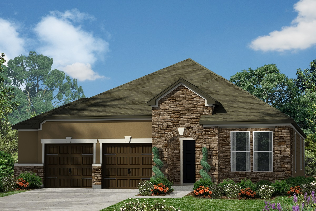 New Homes in Kyle, TX - Plan A-2089 D