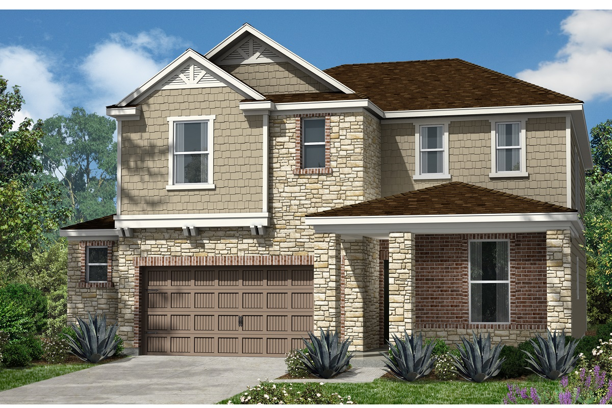 New Homes in Kyle, TX - Plan 2403