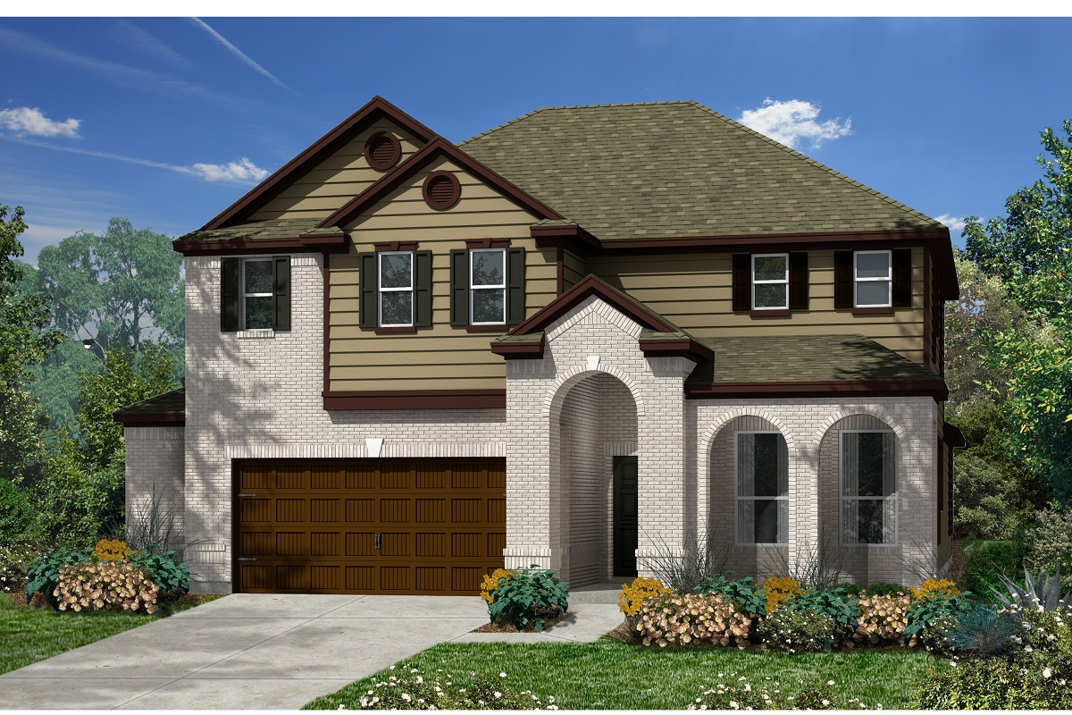 New Homes in Kyle, TX - Plan 3023