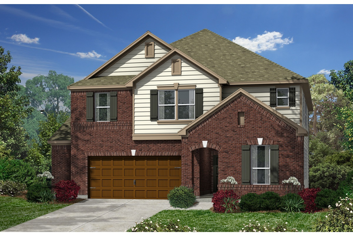 New Homes in Kyle, TX - Plan A-3475 B