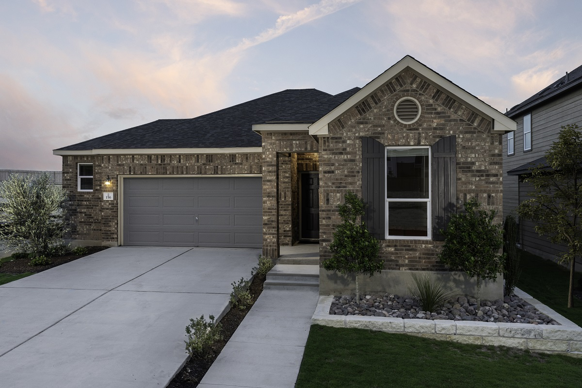New Homes in Kyle, TX - Sunset Hills Plan E-1591