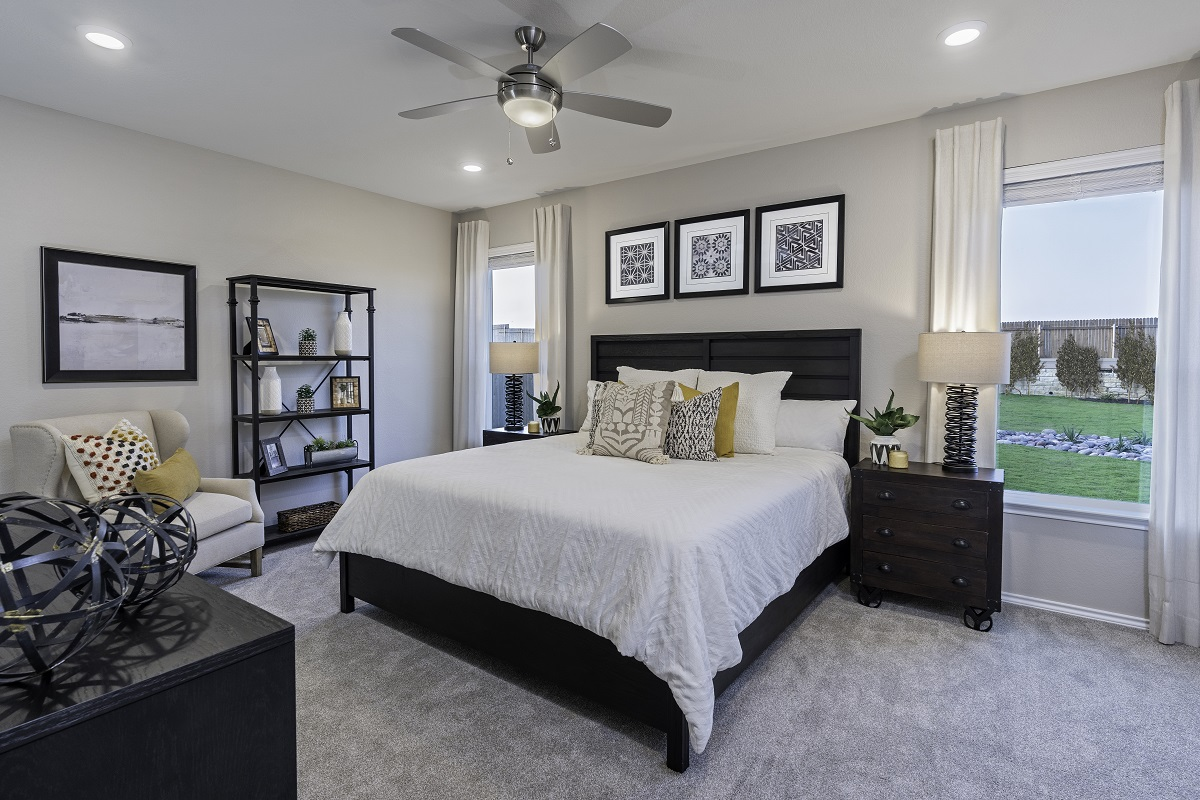 New Homes in Kyle, TX - Sunset Hills Plan E-1591 Great Room