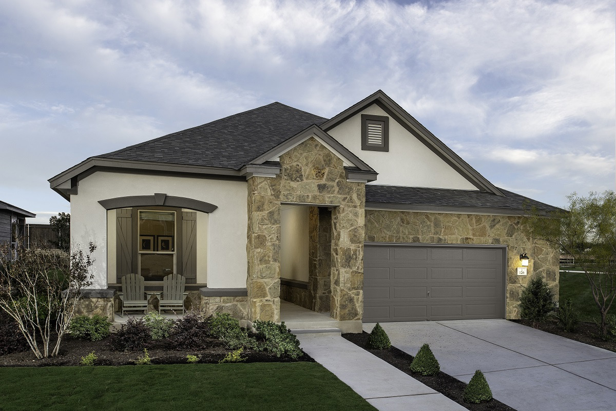 New Homes in Kyle, TX - Sunset Hills Plan A-1965