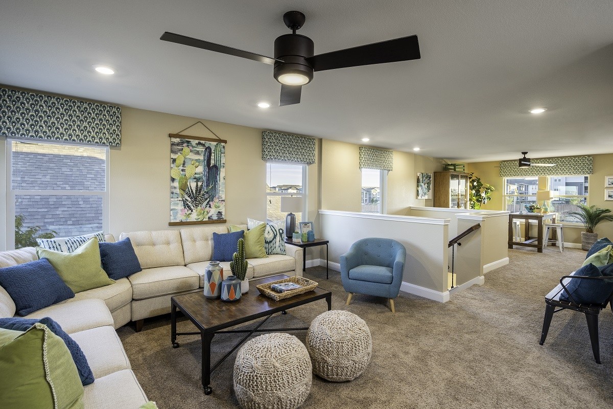 New Homes in Kyle, TX - Sunset Hills Plan E-2412 Game Room