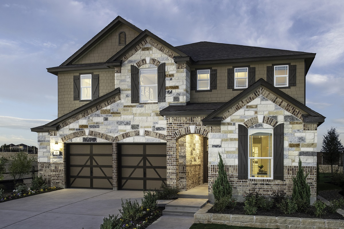 New Homes in Kyle, TX - Plan 3475 Modeled