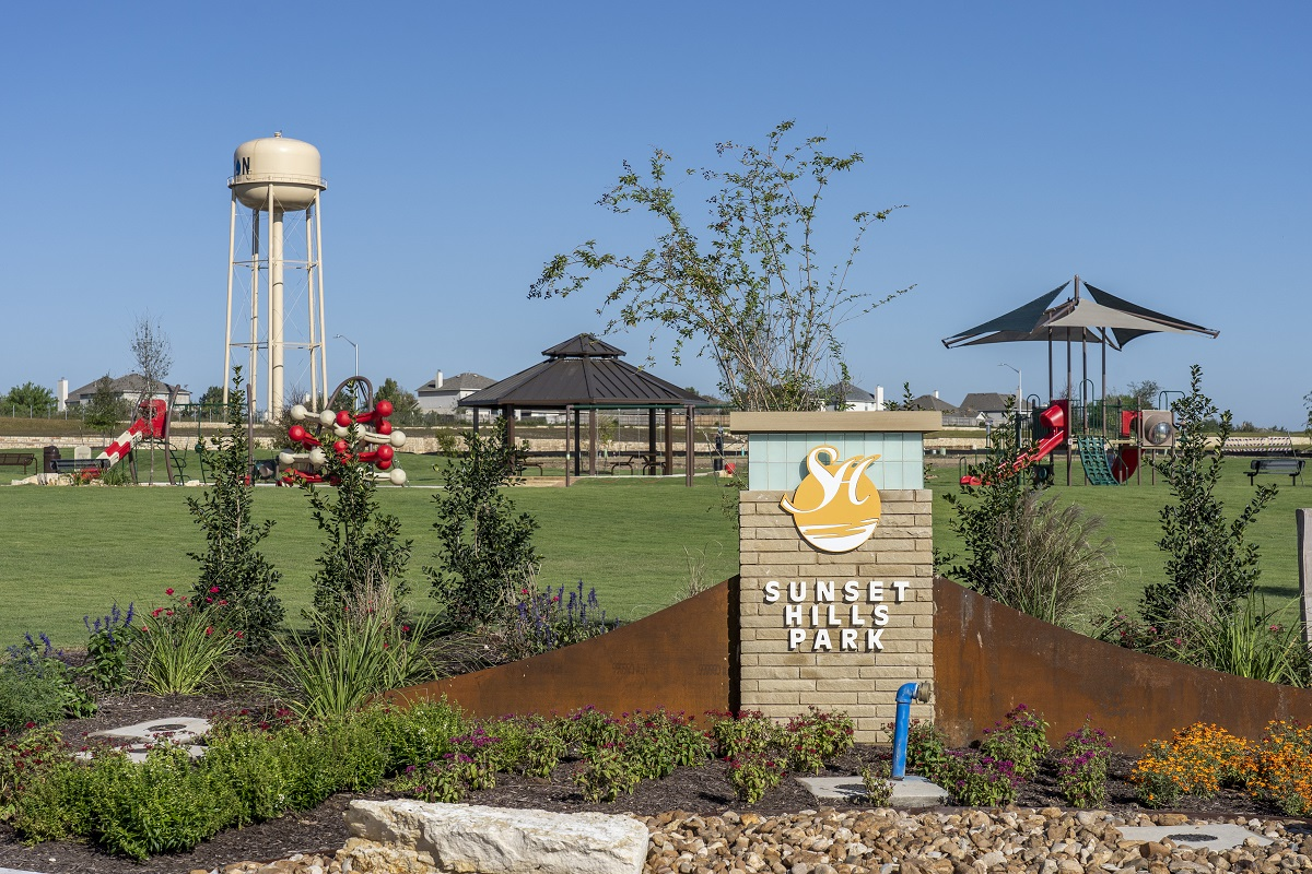New Homes in Kyle, TX - Sunset Hills Community Park