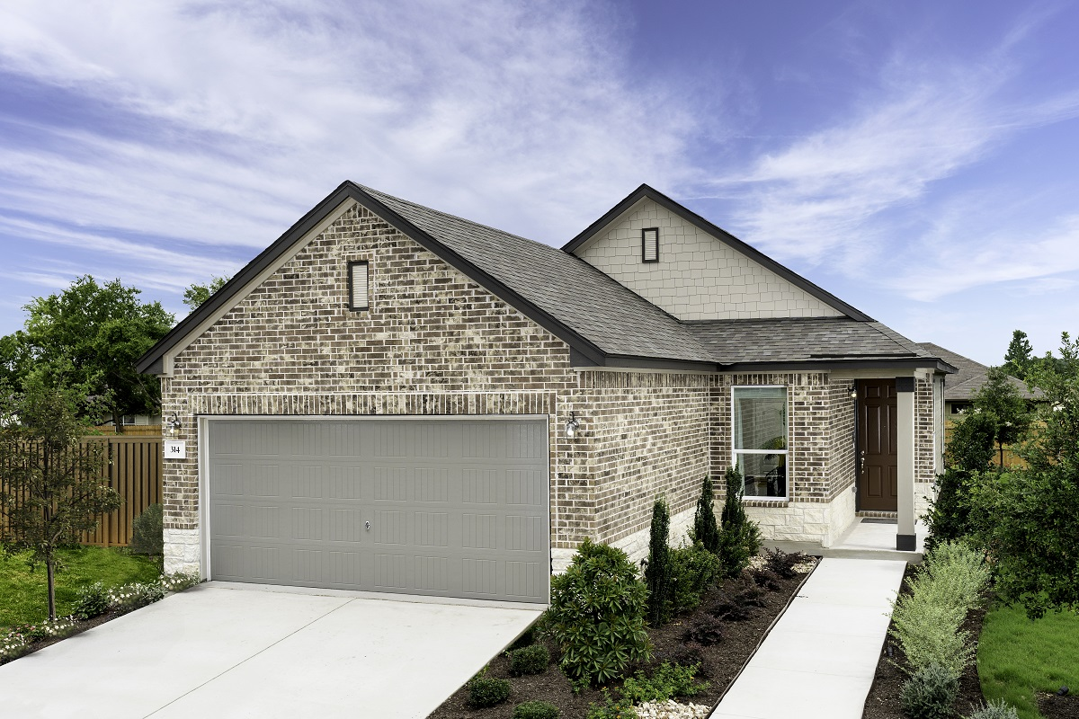 New Homes in Georgetown, TX - Valley View Plan 1353