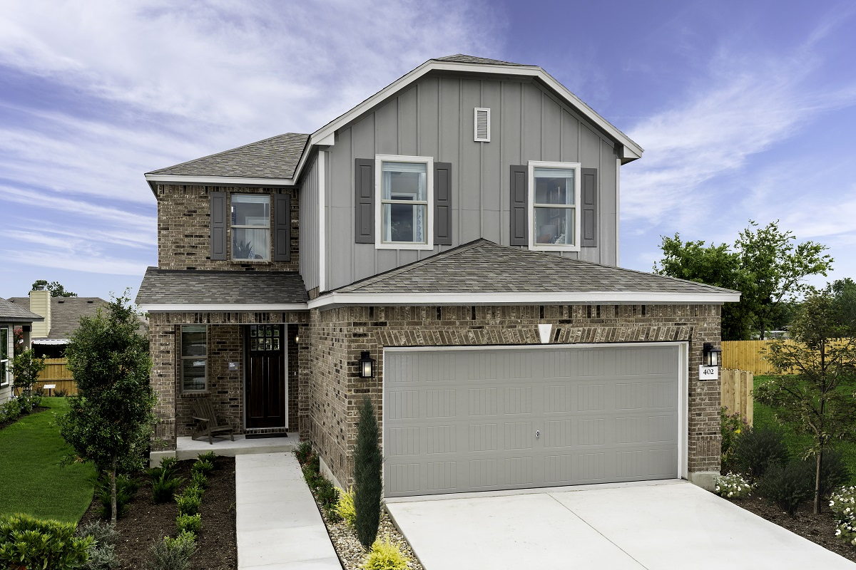 New Homes in Georgetown, TX - Plan 2239 Modeled