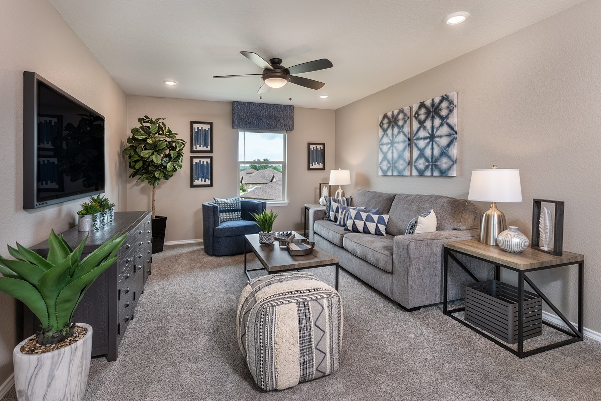 New Homes in Georgetown, TX - Valley View Plan 2239 Game Room
