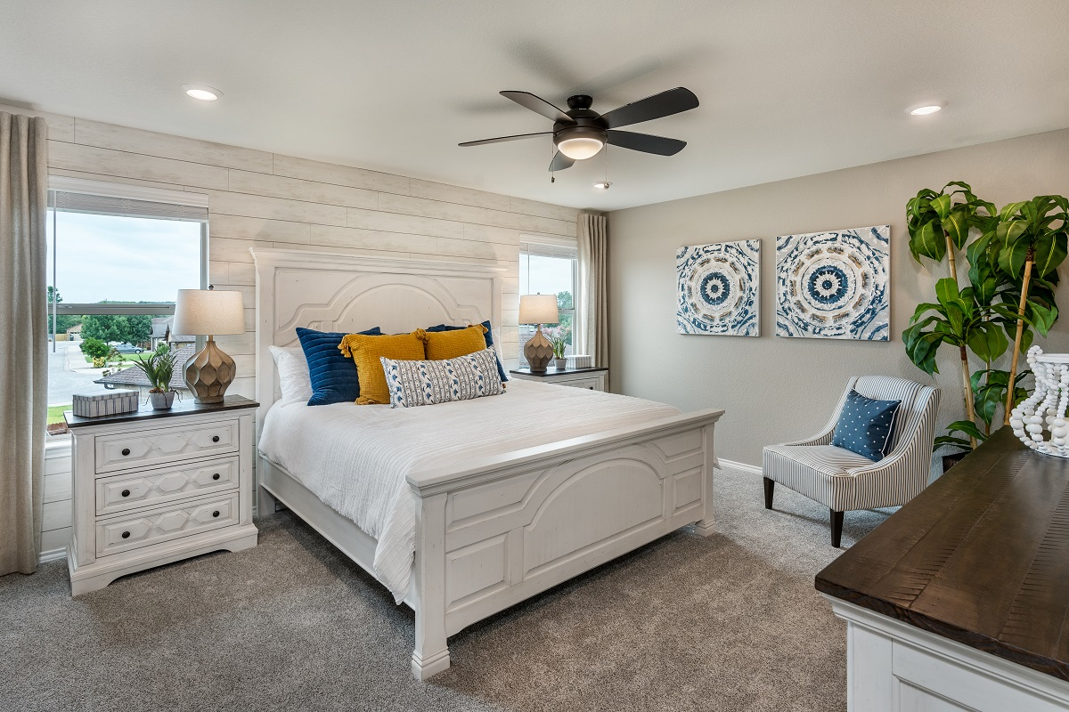 New Homes in Georgetown, TX - Valley View Plan 2239 Master Bedroom