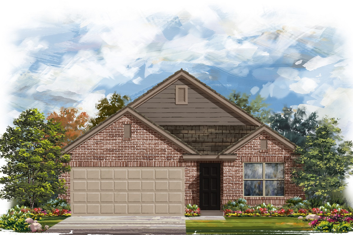 New Homes in Georgetown, TX - Plan 1647