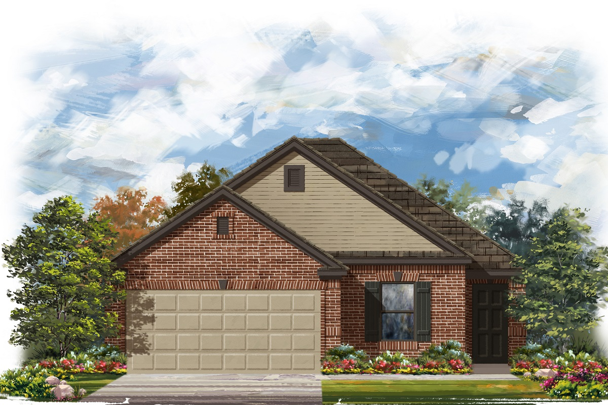 New Homes in Georgetown, TX - Plan E-1694 I