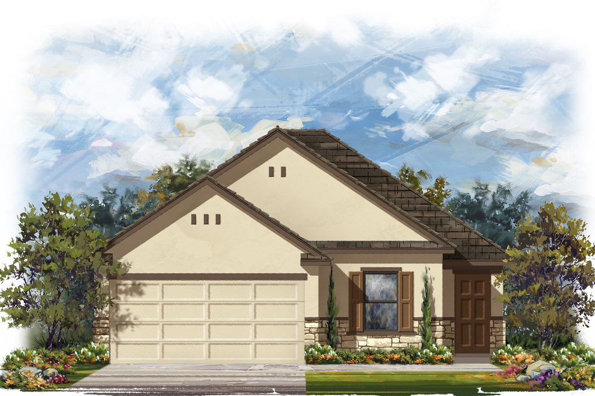 New Homes in Georgetown, TX - Plan E-1694 K