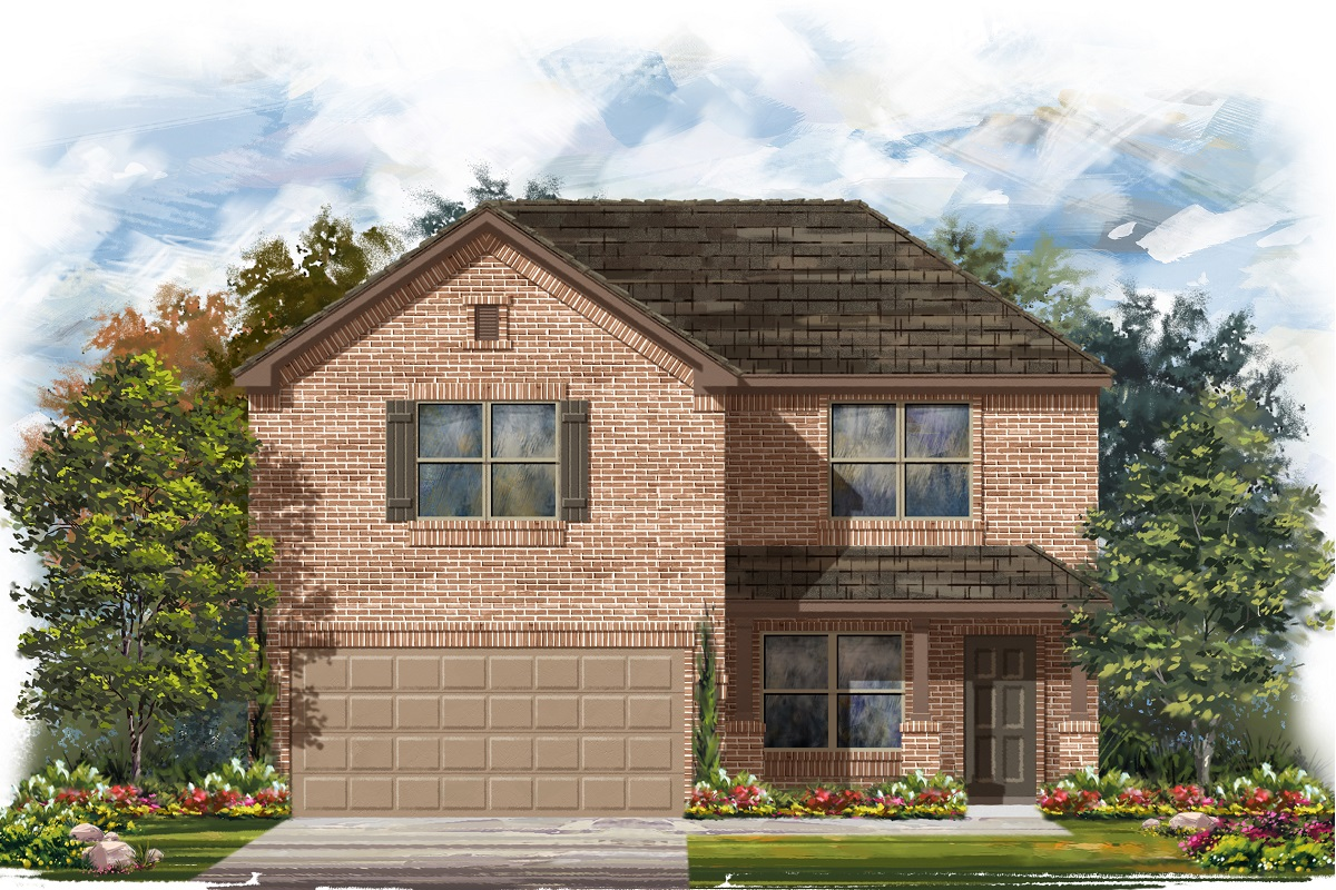 New Homes in Georgetown, TX - Plan 2177
