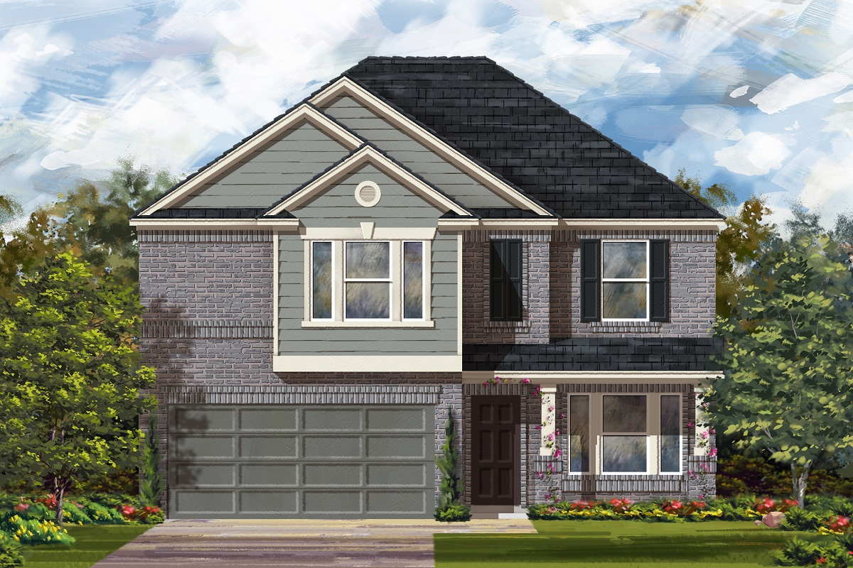 New Homes in Georgetown, TX - Elevation I