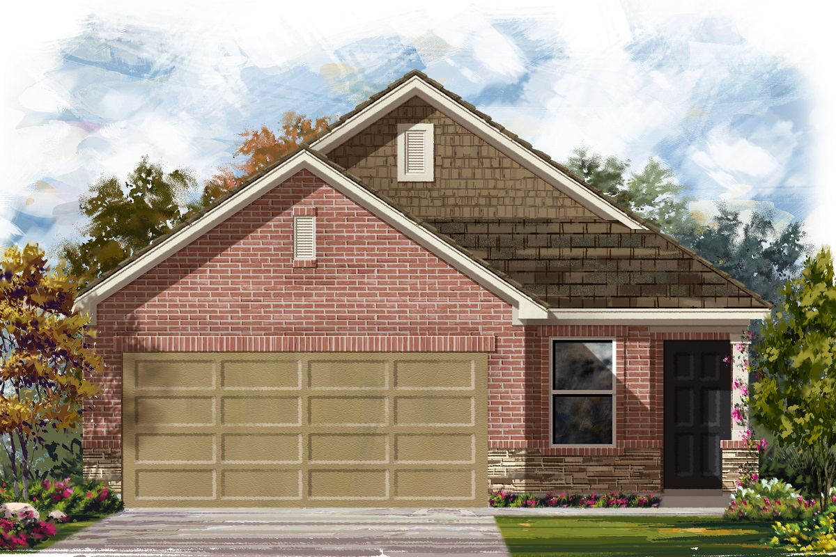 New Homes in Georgetown, TX - Plan 1353 Modeled