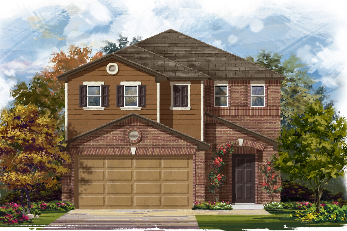 New Homes in Georgetown, TX - Plan 1771