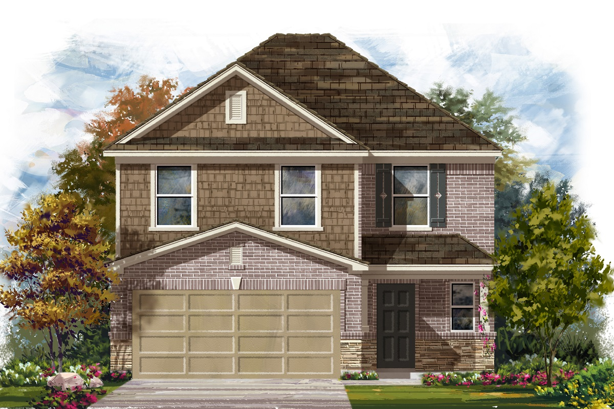 New Homes in Georgetown, TX - Valley View Plan 2239