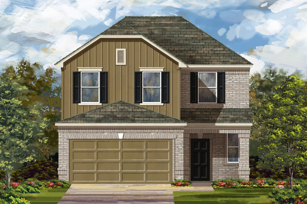 New Homes in Georgetown, TX - Plan F-2239 L