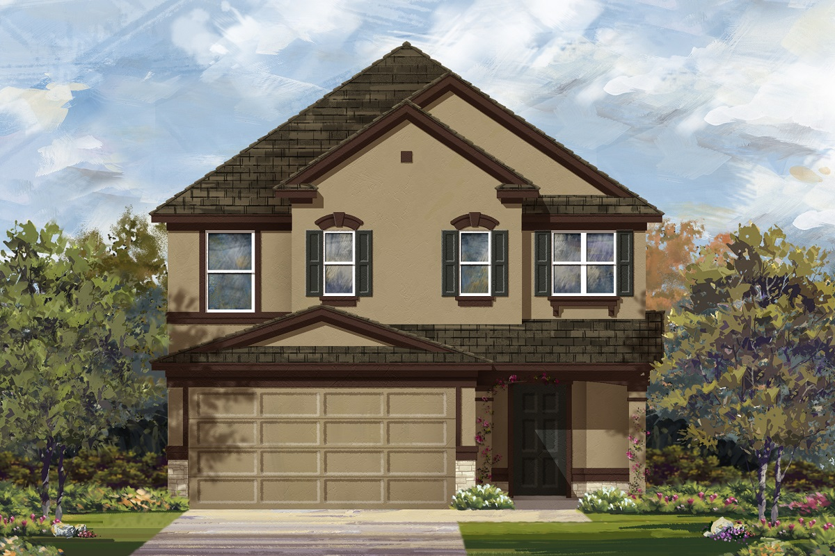 New Homes in Georgetown, TX - Plan 2495