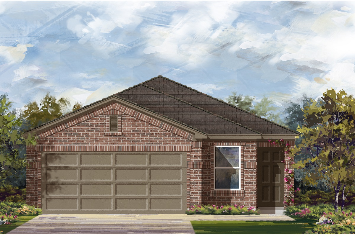 New Homes in Austin, TX - Plan 1585 I