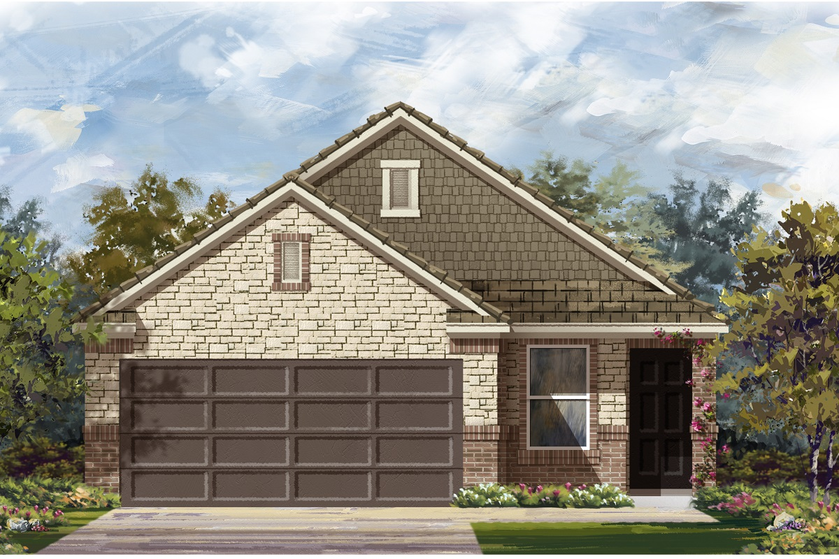 New Homes in Austin, TX - Plan 1585 K