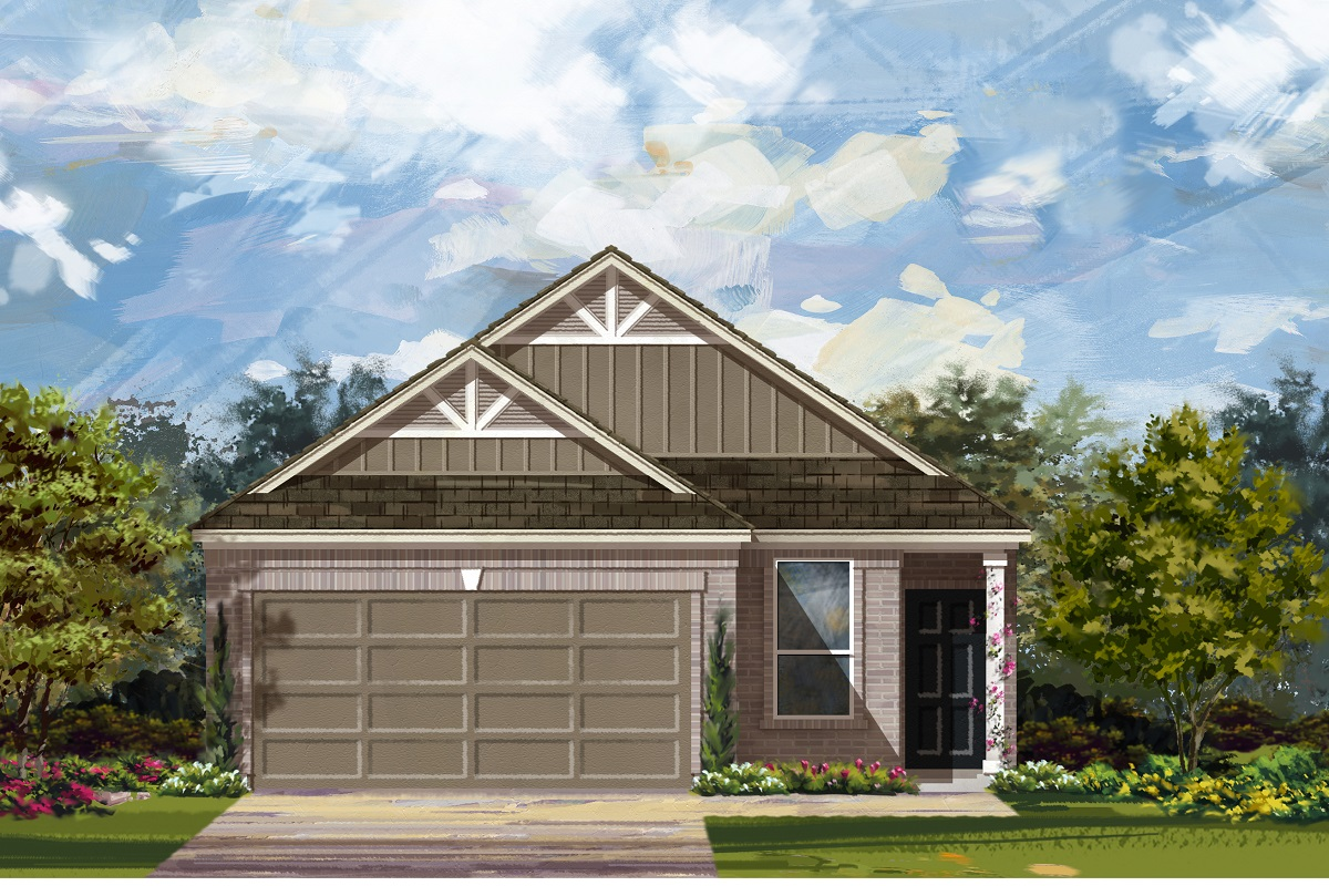 New Homes in Austin, TX - Plan 1585 L