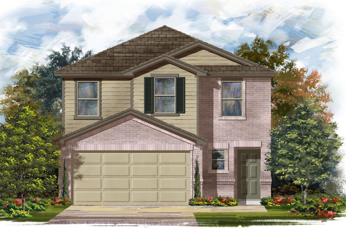 New Homes in Austin, TX - Plan 1601 I