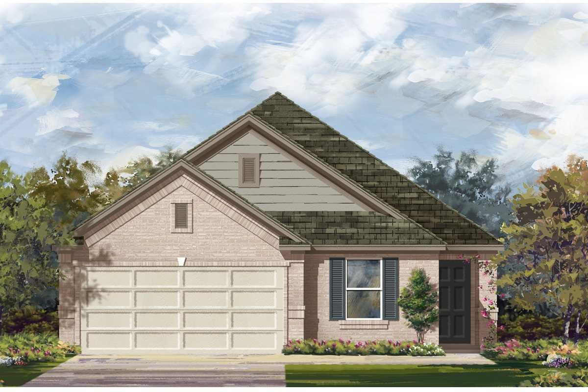 New Homes in Austin, TX - Plan 1892 I