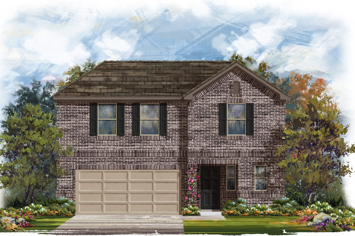 New Homes in Austin, TX - Plan 2412 H