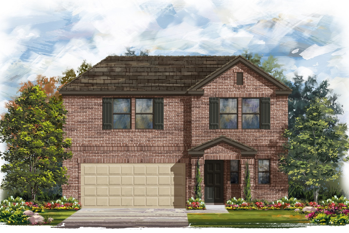 New Homes in Austin, TX - Plan 2412 I