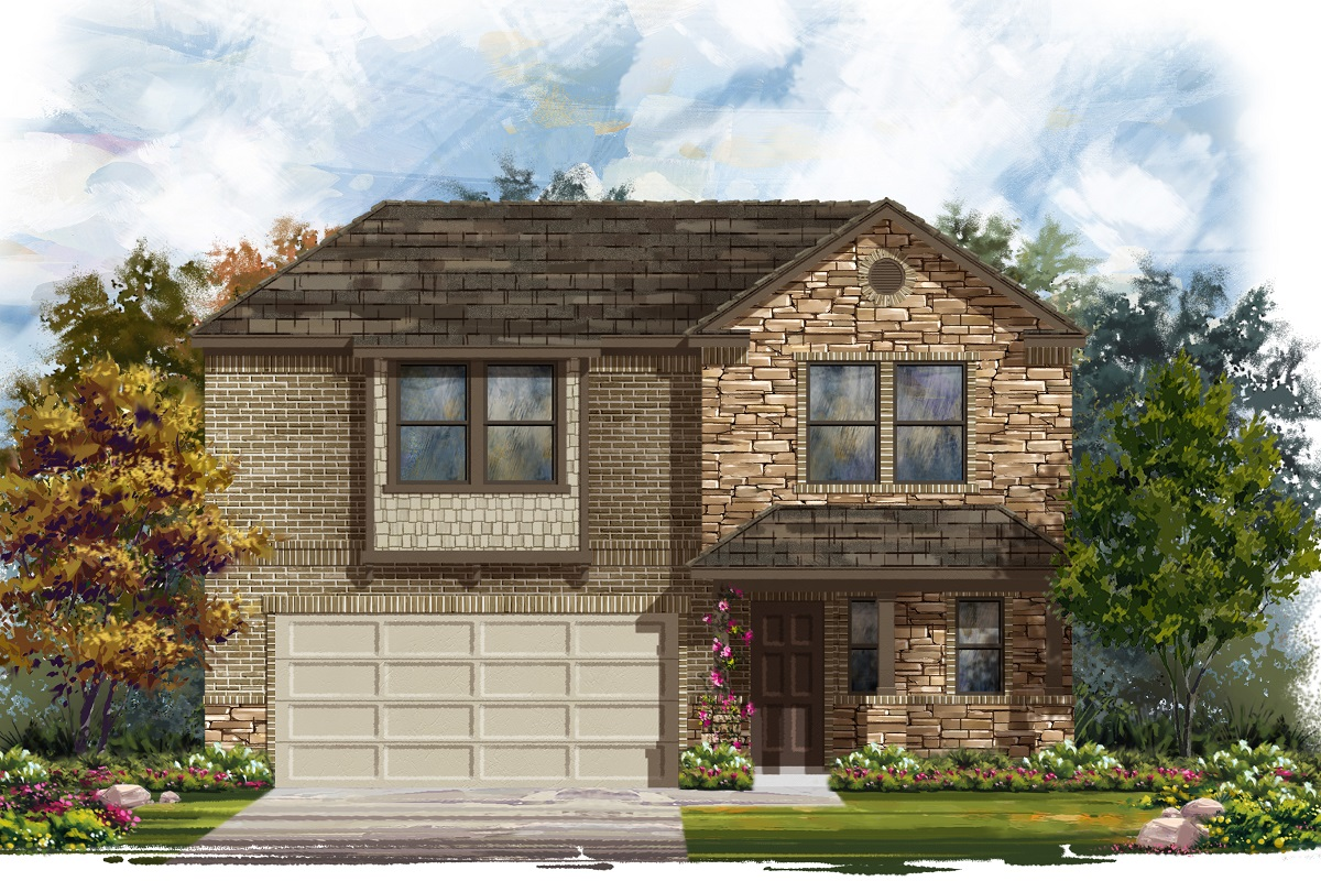 New Homes in Austin, TX - Plan 2412 J