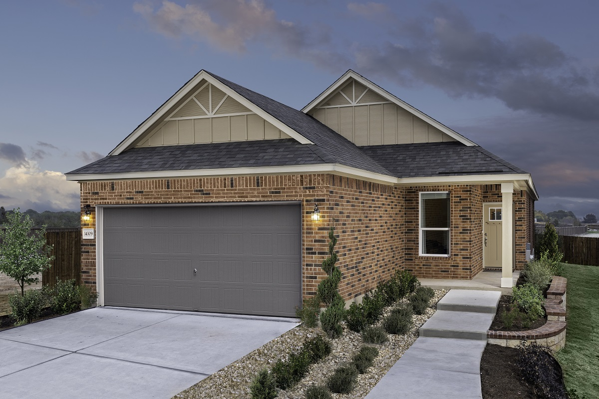 New Homes in Austin, TX - Village at Northtown Plan 1585 Modeled