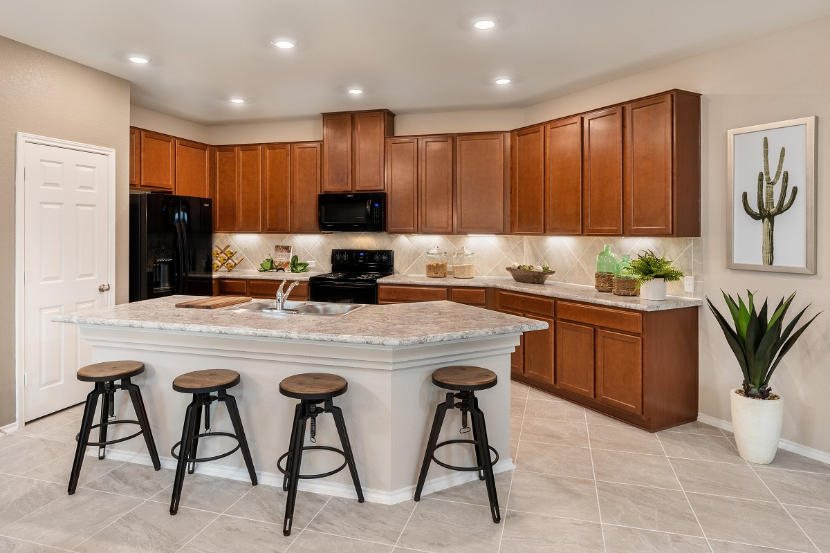 New Homes in Austin, TX - Village at Northtown Plan 1585 Kitchen