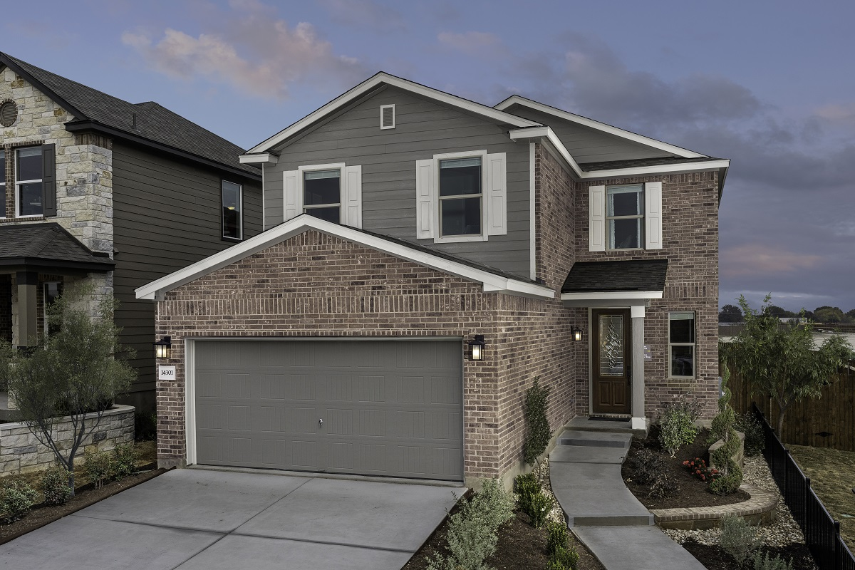 New Homes in Austin, TX - Village at Northtown Plan 2239 Modeled