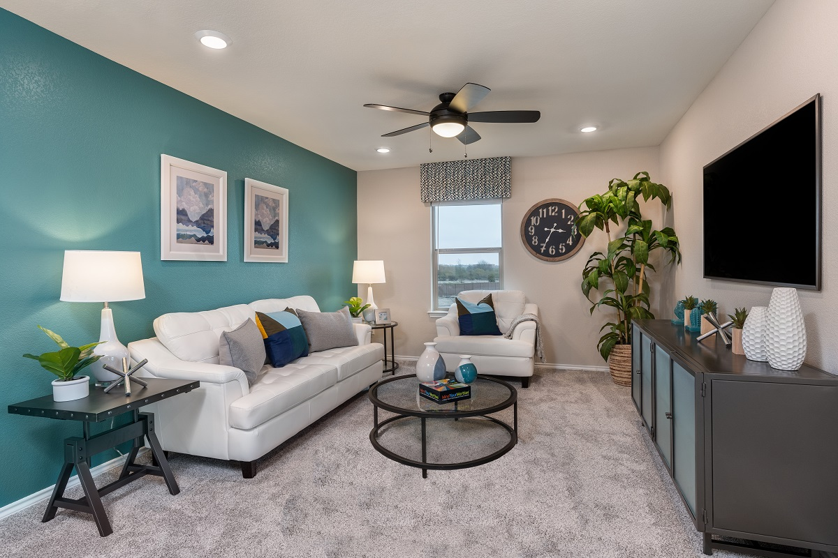New Homes in Austin, TX - Village at Northtown Plan 2239 Game Room