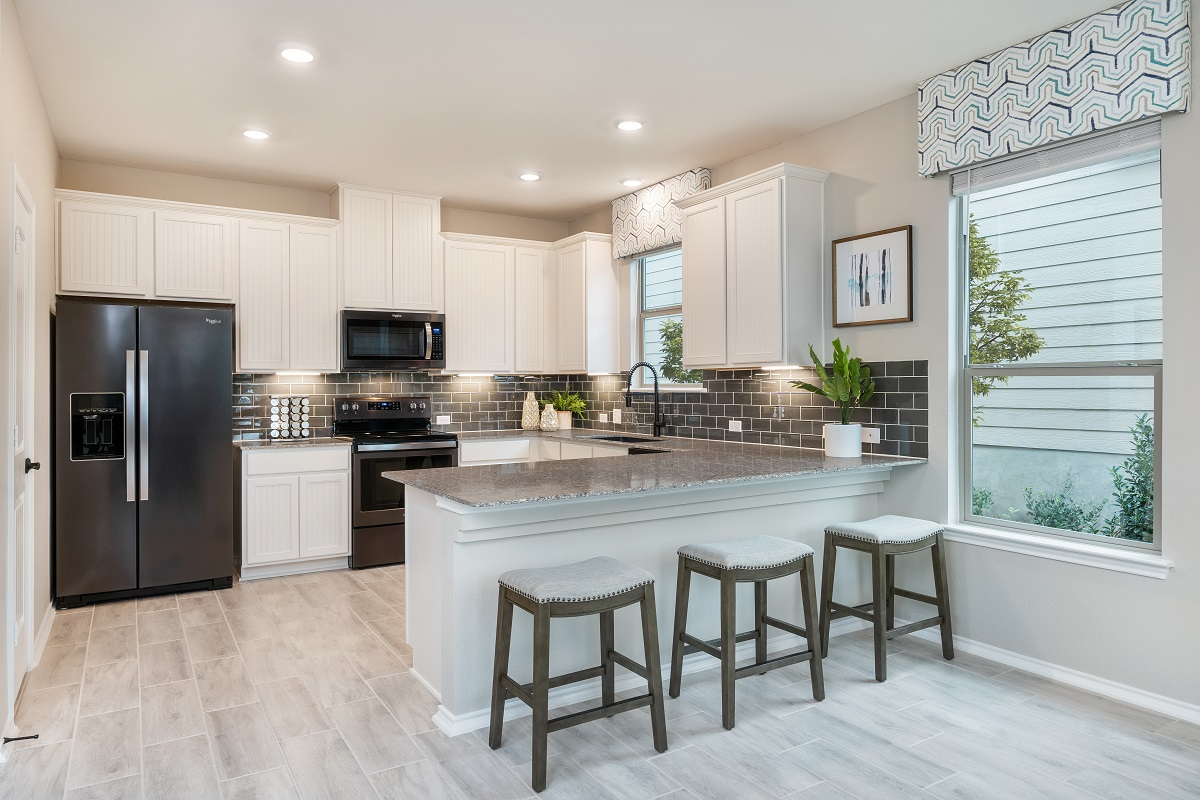 New Homes in Austin, TX - Village at Northtown Plan 2239 Kitchen