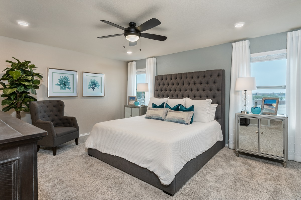 New Homes in Austin, TX - Village at Northtown Plan 2239 Master Bedroom