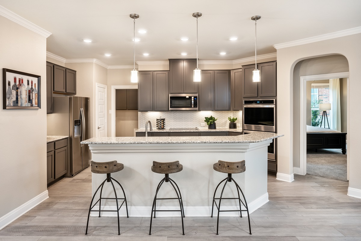New Homes in Austin, TX - Village at Northtown Plan 2412 Kitchen
