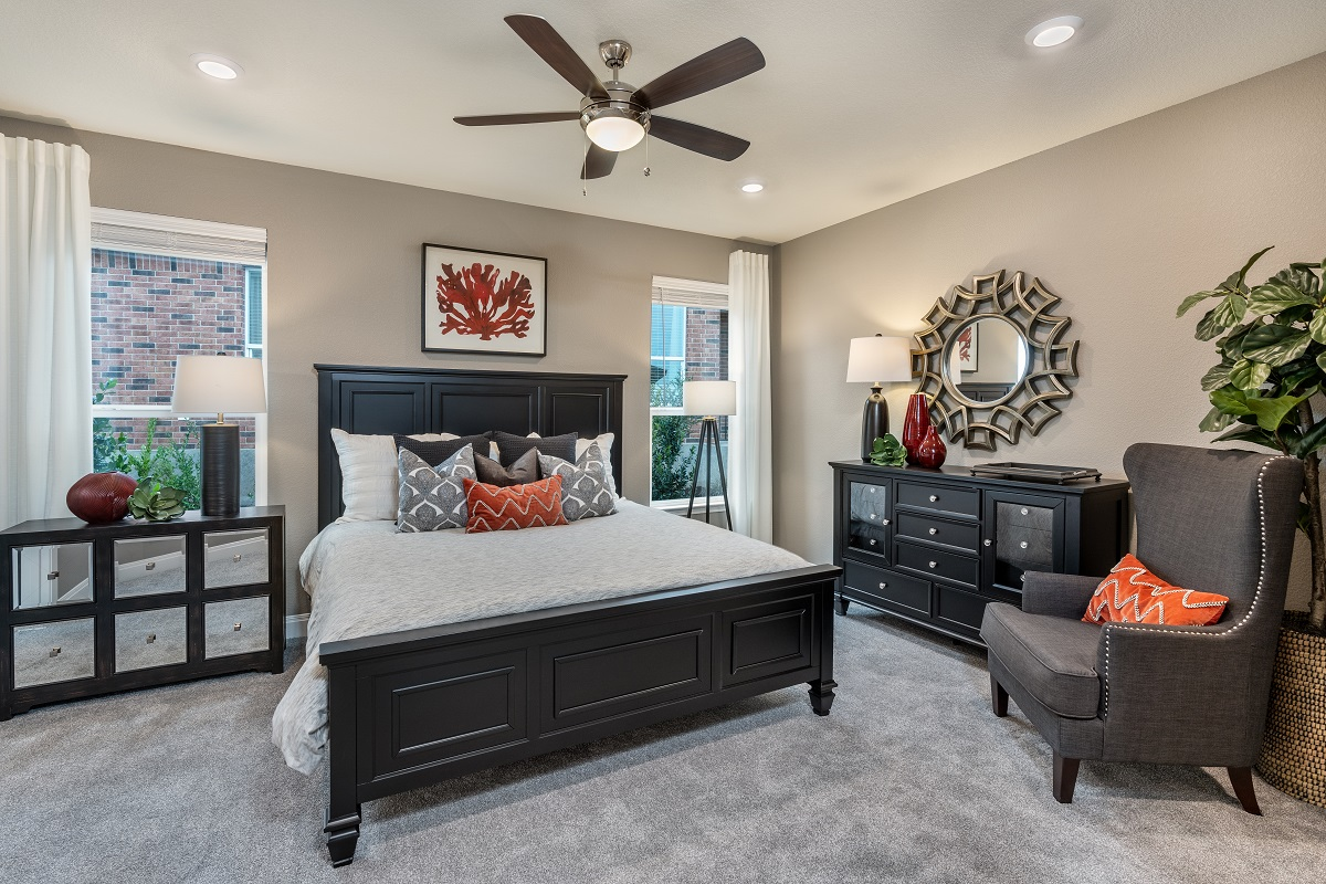 New Homes in Austin, TX - Village at Northtown Plan 2412 Master Bedroom
