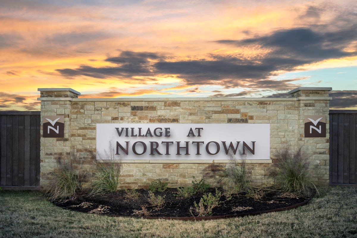 New Homes in Austin, TX - Village at Northtown Community Entry