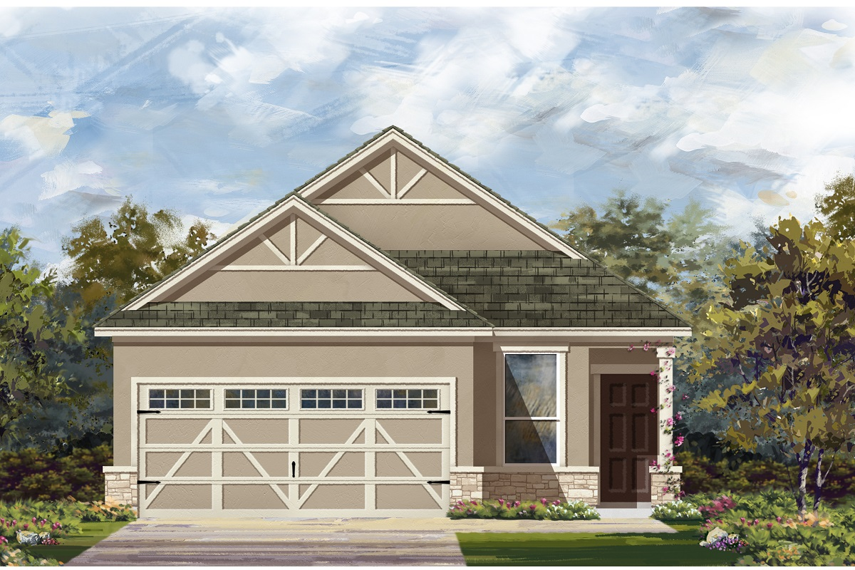 New Homes in Hutto, TX - Elevation J