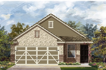 New Homes in Hutto, TX - Plan F-1585 K